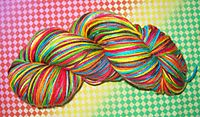 Extra Green Rainbow Sock Wool