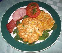 Corn and Ricotta 'Pancakes'