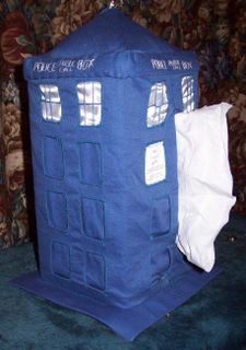 TARDIS, lateral view