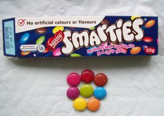 Smartie colours
