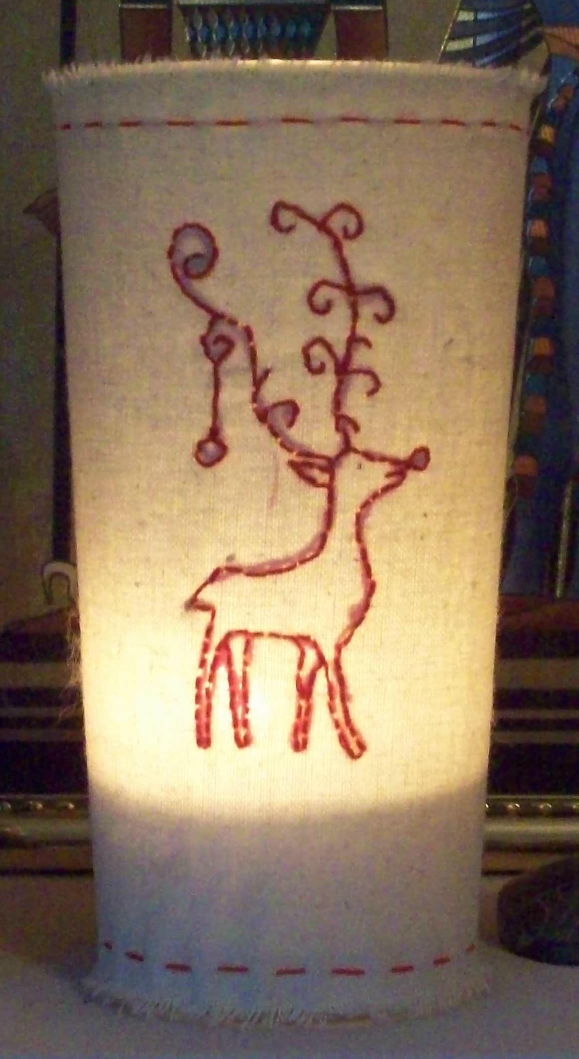 Glowy reindeer