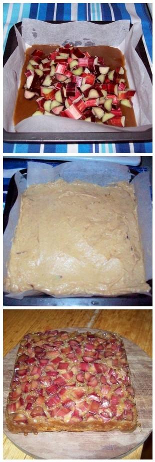 UD Rhubarb cake