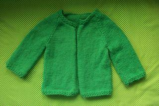 Baby irish's cardi