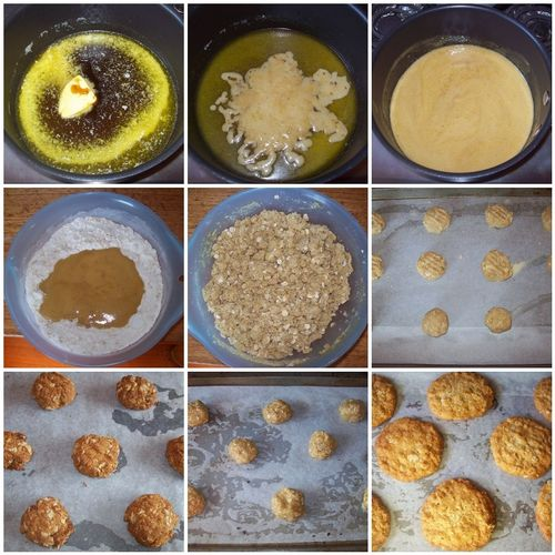 ANZAC Biscuits times two