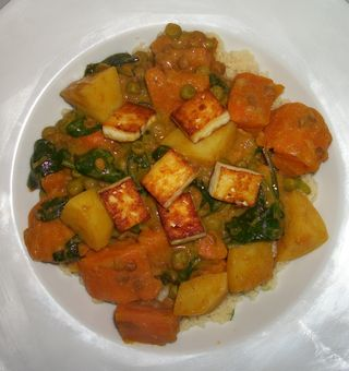 Yummy vegetable curry