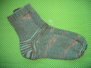 Mint Slice Socks