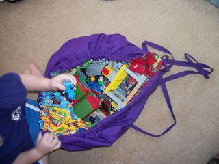 Thomas playmat sack