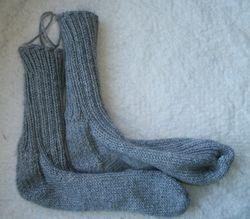 Socks, knitolas