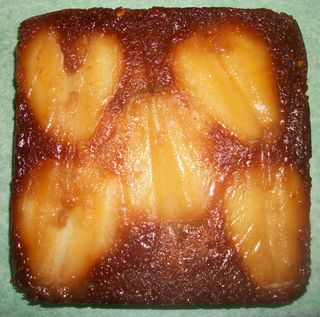 Honey and Pear cake