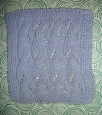Bilberry facecloth