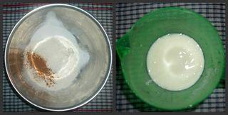 Flour and milk
