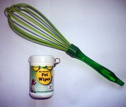 Wipes and whisk