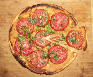 Tomato and Mustard Tart