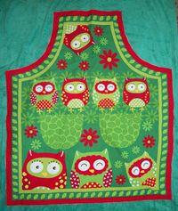 Owl apron front