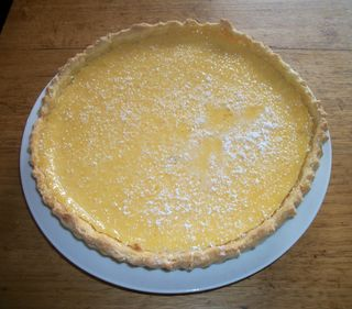 Lemony lemon tart