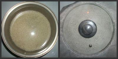 Rice cooks