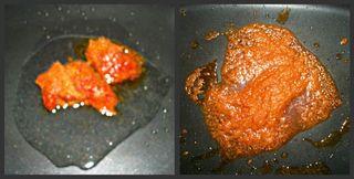 Frying paste