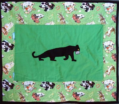 Bagheera's little quilt