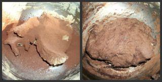 Cocoa dough