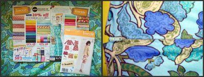 Pattern, fabric, zip