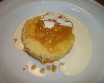 Little lemon pudding