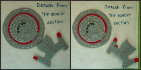 7 ST Detaching the saucer section