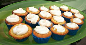 Lemon meringue cup cakes