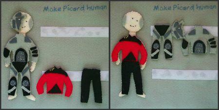 10 ST Picard Borg and Human
