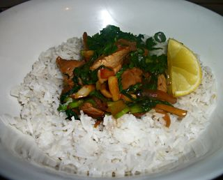 Gingery, garlicky Stir Fry Pork