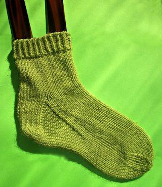 Socks but no violence 2012
