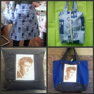 Some Doctor Who sewing 2011
