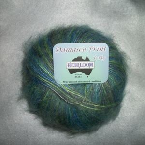 Damasco mohairacrylic