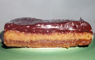 Choc caramel spicy slice