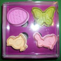 Easter biscuit cutters