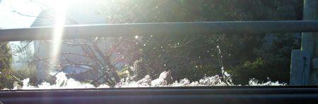 Window ice