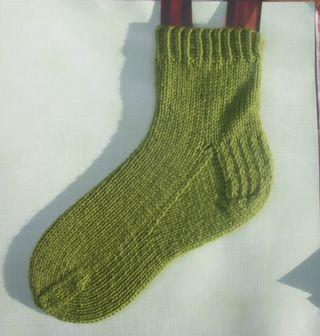 A plain sock