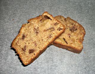 Apple, Gingerbread, Pecan loaf