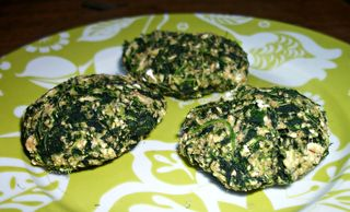 Spinach biscuits