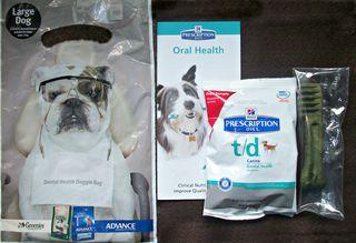 Dental show bag