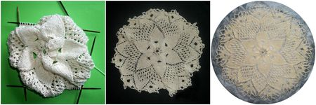 Kind Hearts Doily