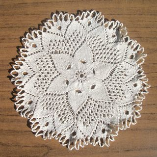 Kind Hearts Doily 2012