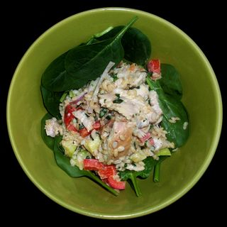 Chicken Rice Salad