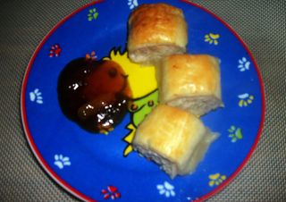 Pork and Apple Sausage Rolls