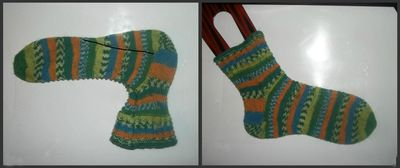 First cup of tea sock