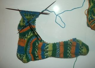 My other cup of tea sock