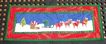 Santa and reindeer thing