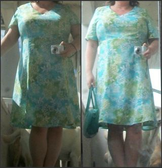 New dress left is best