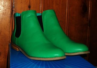 New boots almost the right colour