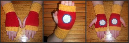 Iron Man Mitts