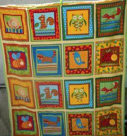 Baby Zoe's quilt